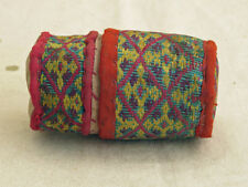 Indonesian Textile/Vintage Embroidered Container #2