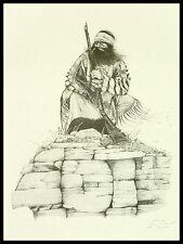 "Mountain Man Vintage Artist's Proof from Ken Schmidt: ""Above the Pass"""