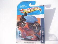 HW DRAG RACERS Hot Wheels FRIGHT BIKE Orange 124/244 New in SEALED Blister Pack