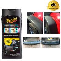 Meguairs Car Black Plastic Ultimate Restorer Clear Coat UV Protector Rubber 12Oz