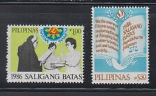 Philippine Stamps 1987 President Corazon Aquino Oath Taking,  Complete set MNH