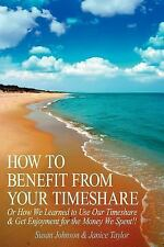 How to Benefit from Your Timeshare: Or How We Learned to Use Our Timeshare and G
