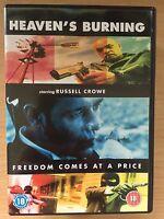 Russell Crowe HEAVEN'S BURNING ~ 1997 Australian Crime Thriller   Rare UK DVD