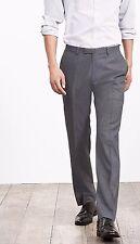 Banana Republic Br Monogram Gray Pinpoint Italian Pant,Gray SIZE 40 X 36 #421242