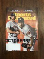 New Sports Illustrated MLB Baseball Houston Astros Cole Verlander October 7 2019
