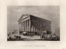 PARIS ANCIEN & HISTORIQUE / EGLISE DE LA MADELEINE