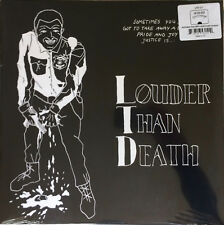 "LOUDER THAN DEATH 12"" KING KAHN & BBQ SHOW THE SPITS BLACK LIPS THEE OH SEES EP"