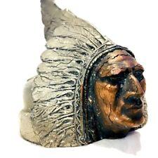 1926 1927 PONTIAC INDIAN HOOD ORNAMENT TERNSTEDT RADIATOR CAP HOT ROD RAT ROD*