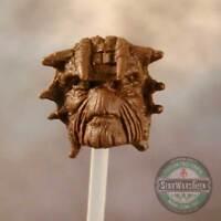 "ML199 Nikto Custom Sculpt Cast head use w/6"" Marvel Legends Star Wars Black"