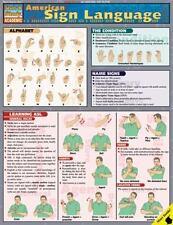American Sign Language by Staff BarCharts Inc. and Adan R., II Penilla (2001,...