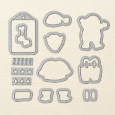 Stampin Up Sizzix Santa Builder Framelits Dies NEW 144681 Christmas Suit Boots