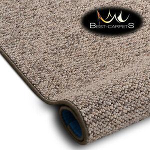 VERY THICK Runner exclusive Rugs CASABLANCA beige 30 SIZES modern loop carpeting