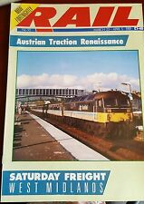 RAIL MAGAZINE NO 92 MARCH 23-APRIL 5 1989