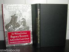 Dr WILLIAM KITCHINER Regency Eccentric COOK'S ORACLE Tom Bridge 1st Ed COOK BOOK