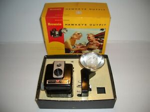 vintage Kodak Brownie Hawkeye Camera Outfit No. 177E