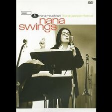Nana Swings - Nana Mouskouri (DVD,2003) - Live at Jazzopen Festival - FAST POST*
