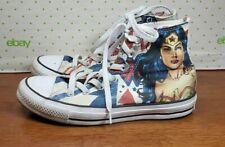 Converse All Star DC Comics Wonder Woman Hi Top Tennis Shoes Men Sz 5 Women Sz 7