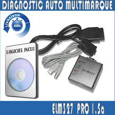 Interface Diagnostic ELM327 1.5 PRO USB en Français - MULTIMARQUES - VCDS DELPHI