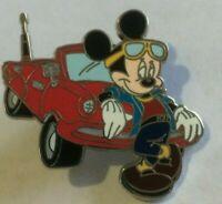 Mickey Travel Company Red Transportation Cool Car disney pin AAA W