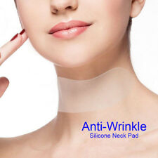 Neck Care Silicone Pad Anti Wrinkle Aging Reusable Transparent Pads Neck Stick