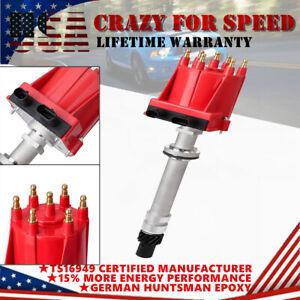 1PC Red Lgnition Distributor For Chevy Blazer S10 C10 K10 GMC Jimmy S-15 V6 4.3L