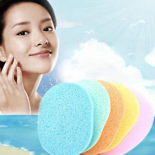 2pcs Soft Facial Cleansing Sponge Face Makeup Wash Pad Cleaning Sponge Puff New