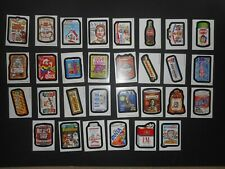 2017 Topps Wacky Packages Old School 6th Series 6 Complete Tan Set 30/30 NM