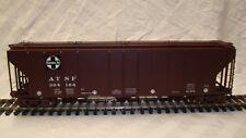 O Scale AtlasPS-4427 Covered Hopper-Santa Fe - 2 Rail. Brand New