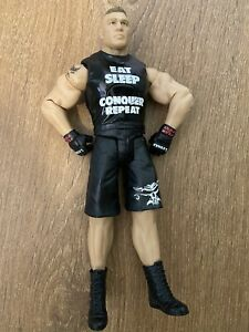 WWE WRESTLING FIGURE MATTEL TOUGH TALKERS BROCK LESNAR
