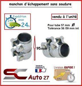 MANCHON CONNECTEUR D' ECHAPPEMENT/RACCORD POUR LIGNE /TUBE 57 mm l'unité AA99077