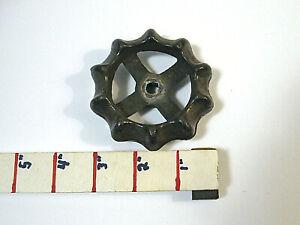"Vintage Industrial Faucet Valve Handle 3"" Iron Spigot Knob Steampunk"
