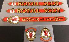 Royal Scot Decal Set (sku 10594)