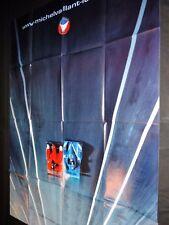 MICHEL VAILLANT ! modele rare affiche cinema cars f1 automobile bd