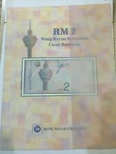 Malaysia Rm 2 Uncut 3 in 1 with Folder