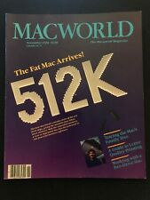 Macworld November 1984: Vintage Apple Macintosh Magazine - The Fat 512K Arrives!