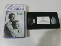Remember Gregory Peck Ingrid Bergman Hitchcock - VHS Kassette Tape Spanisch