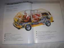 VW T2 T3 Transporter Syncro+Reparaturanleitung Reparaturbuch Reparaturhandbuch