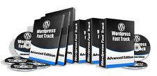 Wordpress Fast Track- Advanced Training- 20 Videos on 1 CD