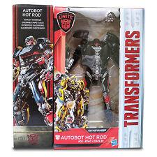 Hasbro Transformers The Last Knight Deluxe Hot Rod Walmart Exclusive Summer Sale