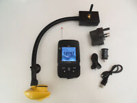 Wireless Bait boat fish finder, 200 metre range, simple to attach to boat, Carp