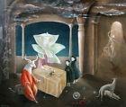 LEONORA CARRINGTON - Daughter of the Minotaur (60x51), CANVAS, POSTER FREE P&P