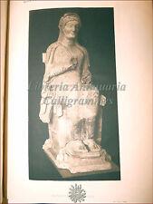 SICILIA GRECIA ARCHEOLOGIA: Orsi, TORSO GRAMMICHELE CATANIA 1908 Dedica Tavole