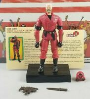 Original 2003 GI JOE Cobra CLAWS COMMANDER V1 ARAH Complete UNBROKEN figure