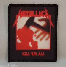 METALLICA Kill 'Em All (Printed Patch) (New)