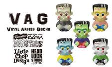 Medicom Vag Series 23 Vinyl Artist Gacha Headlock Studio Lil' Frankie Full Set