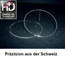 2 Kunststoff-Brillengläser 1,5 mit Hart-Superentspiegelung SwissMade