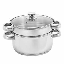 Stainless Steel 2 Tier Steamer-18cm