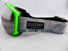 Electric Eg3 Snow Goggles V. Co-lab - Bronze Silver Chrome Bonus Green Lens