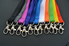 PERSONALISED LANYARD YOUR NAME MOBILE PHONE KEYS PASS HOLDER ALL COLOURS