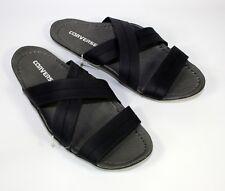 Men's Women's CONVERSE All Star Black grey Rubber Sandals Sliders SIZE UK 7.5